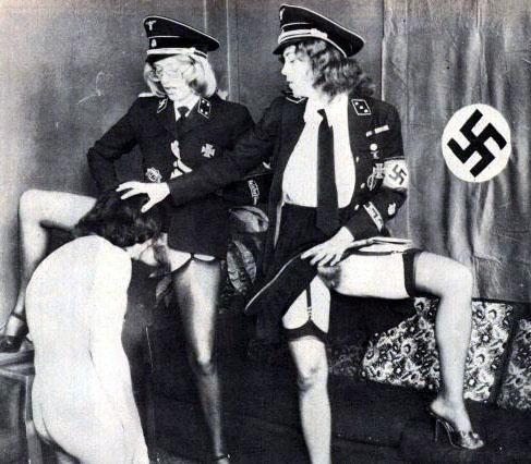 порно фашисты ретро